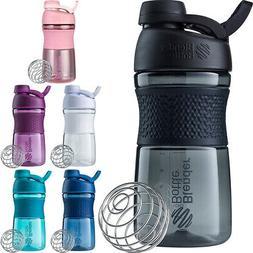 Blender Bottle SportMixer Twist Cap 20 oz. Tritan Grip Shake