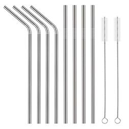 Xubox Stainless Steel Drinking Straws, FDA-Approved Extra Lo