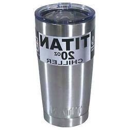 Titan 20oz Stainless Steel Tumbler Cup Double Wall Insulated