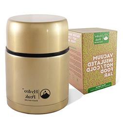 Hydro Peak Stainless Steel Vacuum Sealed Food Thermos Jar, I