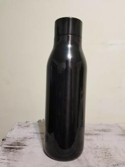 Starbucks Stainless Steel Water Bottle Shiny Black Twist Cap