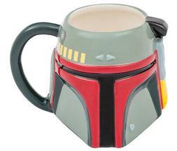 Star Wars 20 Oz Ceramic Sculpted Mug Boba Fett