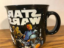Star Wars Coffee Cup 20 oz Ceramic Mug NEW RARE COLLECTIBLE