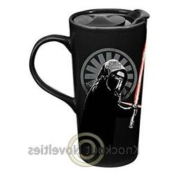 Star Wars Kylo Ren 20 oz. Heat Reactive Ceramic Travel Mug D