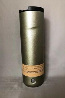 Starbucks Gold Glitter Stainless Steel Tumbler 20 Oz 2018. N