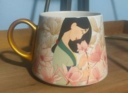 DISNEY Store Mug ART OF MULAN Ceramic Coffee Cup 20 oz NEW