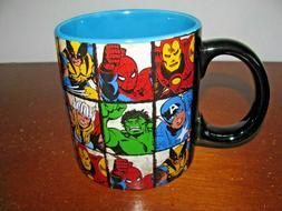MARVEL COMICS SUPERHEROS 20 oz CERAMIC COFFEE MUG CUP