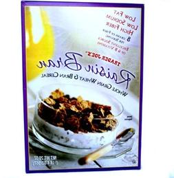 Trader Joe's Raisin Bran 20 oz