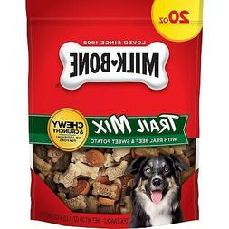 Milk-Bone Trail Mix With Real Beef & Sweet Potato Dog Treats