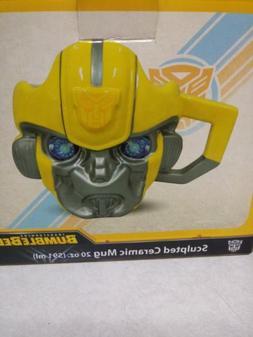 Transformers Bumblebee 20 oz. Sculpted Ceramic Mug authentic