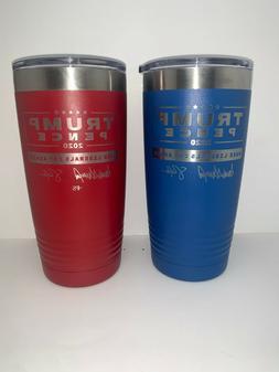Trump 20oz Stainless Steel Cup Laser Engraved Polar Tumbler