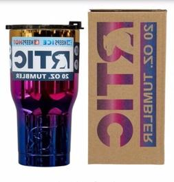 RTIC Tumbler 20 Oz Flame tumbler - Makes a Great Gift - Free