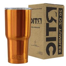 RTIC Tumbler 20oz Candy Orange Powder Coated