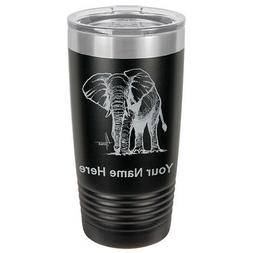 Tumbler 20oz Mug - African Elephant - Personalized Engraved