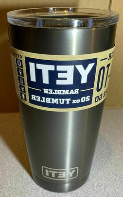 Yeti Tumbler 20oz with Magslider Lid -  - 100% Authentic