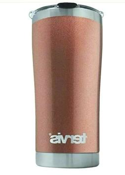 Tervis Tumbler Powder Coated Stainless Steel 20 oz Rose Gold