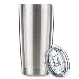 20oz Tumbler Vacuum Insulated Stainless Steel Coffee Cup wit