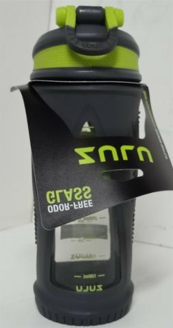 ZULU Turbo 20oz Glass Shaker Bottle - Gray/Green