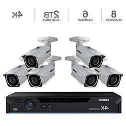 Lorex 4K Ultra HD Wired Network Security System with Color N