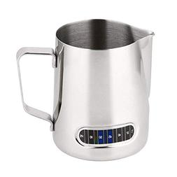 Upgrade SUS304 Stainless Steel Polished Milk Frothing Pitche