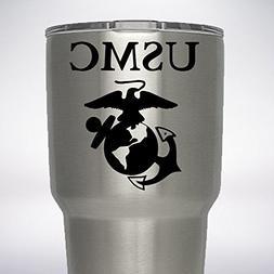 USMC United States Marine Corp Decal for YETI Rambler Tumble