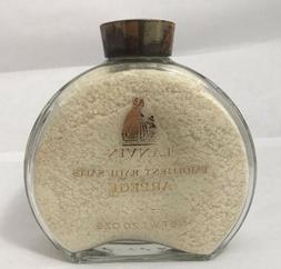 Vintage Lanvin Arpege Emollient Bath Salts 20 OZ Perfume