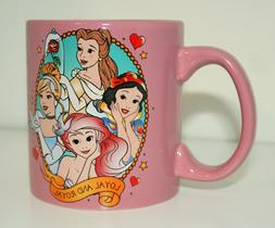Walt Disney Princess Blush Rose Ceramic Coffee Mug Cup Box N