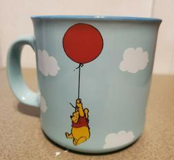 """Disney Winnie The Pooh Blue 20 oz  Mug NEW""""You are braver"""
