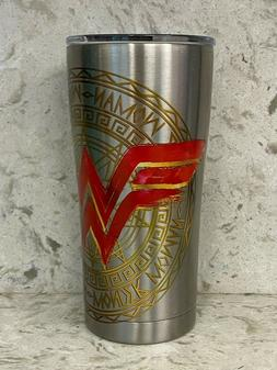 Tervis Wonder Woman 20 oz Stainless Steel With Hammer Lid NE