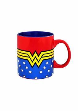 6a171227eab Wonder Woman Logo 20 oz Jumbo Ceramic Mug NEW FREE SHIPPING