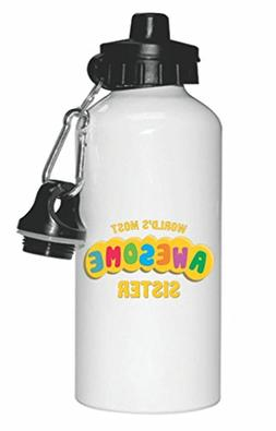 World's Most Awesome Sister Design Sports Water Bottle Sport