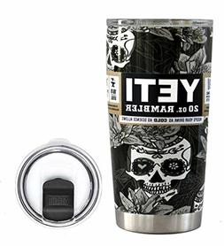 Yeti Coffee Travel Mug Thermos Cooler Coffe For Men Fun Tumb