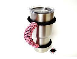 Yeti tumbler handle - Pink Camo - other tumblers 20oz 30oz m